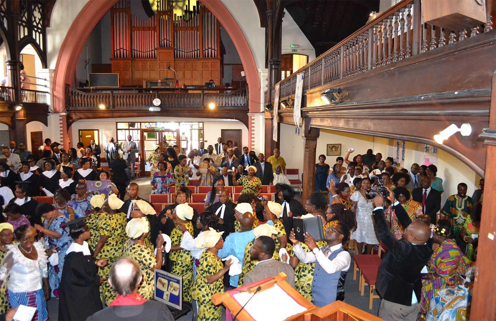 Evangelical Presbyterian Church, London (East Dulwich) Photo by Edem